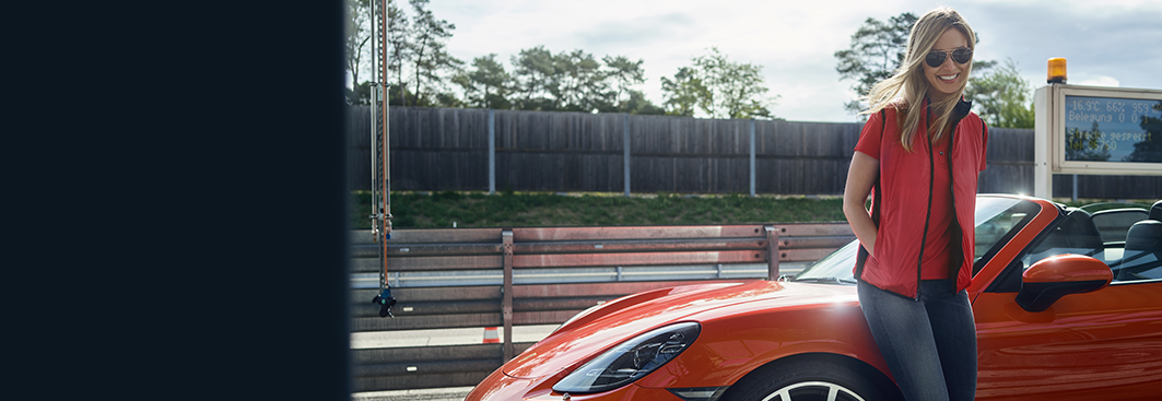 Porsche design jacke damen